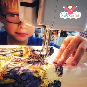 teach kids to sew
